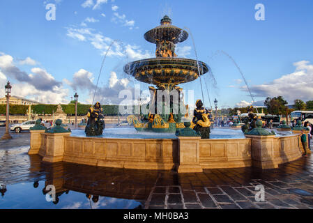 Fountain of River Commerce and Navigation - Stock Photo