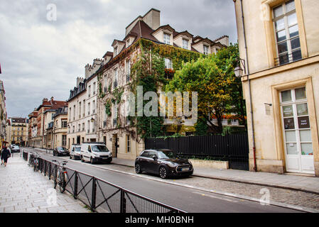 Paris Historic Street - Stock Photo