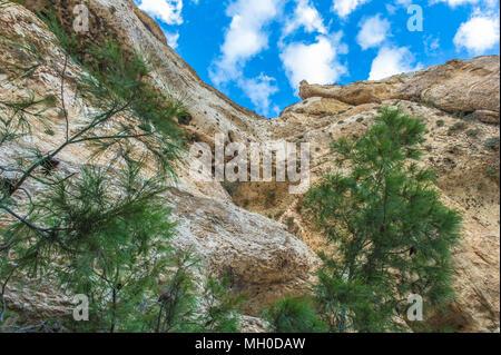 Rock of Maalula, Syria - Stock Photo