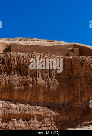 Petroglyphs site, Al Madinah Province, Al-Ula, Saudi Arabia - Stock Photo
