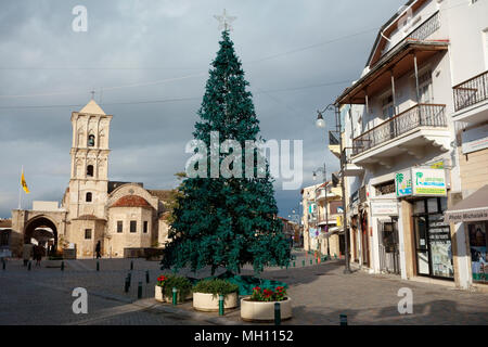 Agios Lazaros Church (Church of Saint Lazarus), Larnaca, Cyprus - Stock Photo