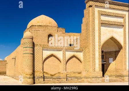 Itchan Kala, the walled inner town of the city of Khiva, Uzbekistan. UNESCO World Heritage - Stock Photo
