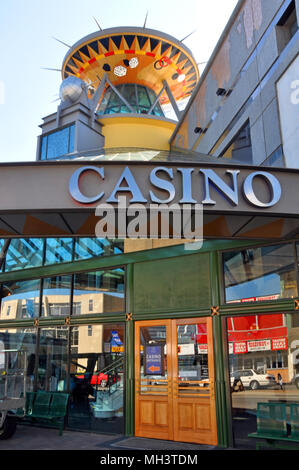 Christchurch, New Zealand - October 29, 2011: Christchurch Casino reopens for business following devastating February 2011 Earthquake. - Stock Photo