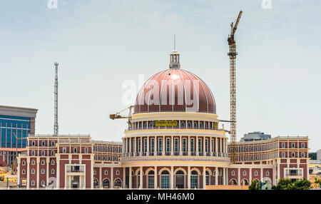 Downtown of Luanda and the National Bank of Angola - Stock Photo