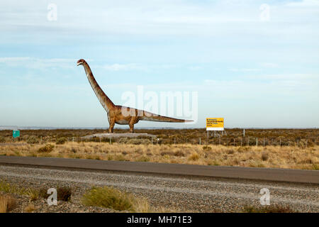 Patagotitan mayorum, Lower cretaceous period - Stock Photo