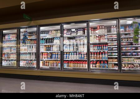 Publix supermarket store in Orlando Florida USA - Stock Photo