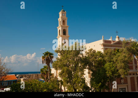 St. Peter's Church , Jaffa; Tel Aviv-Yafo, Israel - Stock Photo