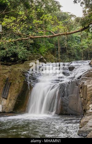 Pala-U Waterfall, Kaeng Krachan National Park, Thailand | Pala-U Wasserfall, Kaeng Krachan Nationalpark, Thailand - Stock Photo