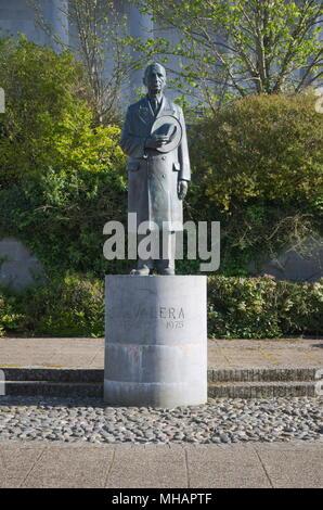 Statue of Éamon de Valera - Stock Photo
