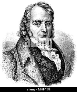Benjamin Constant de Rebecque (born October 23, 1767, died December 8, 1830), - Stock Photo
