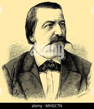 Rudolf von Gottschall (born September 30, 1823 ), - Stock Photo