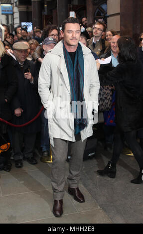 London, UK, 1st May, 2018. Luke Evans attends Chess musical opening night at the London Coliseum Credit: WFPA/Alamy Live News - Stock Photo