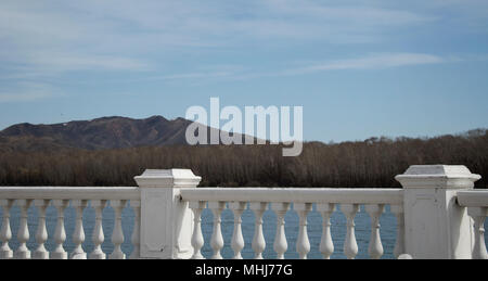 Embankment of the river. Parapet. Antique style. - Stock Photo