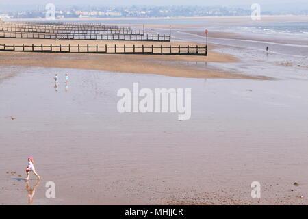 Dawlish Warren Beach: An award winning Blue Flag beach in Dawlish, South Devon, England, UK, PETER GRANT - Stock Photo