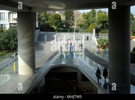 Acropolis Museum. Athens. Greece. Exterior. - Stock Photo