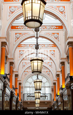 The Royal Arcade London W1 - Stock Photo