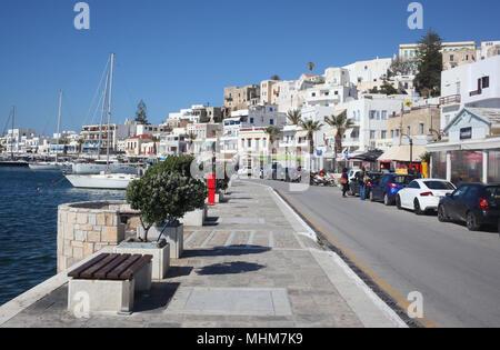 Naxos island, Greece - Stock Photo