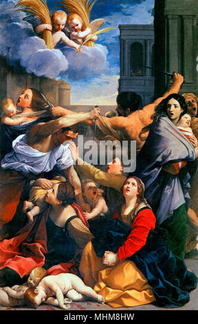 The Massacre of the Innocents, Guido Reni, circa 1611 - Stock Photo