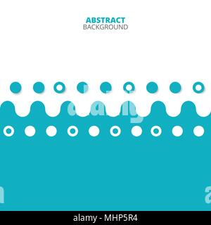 Abstract Of Blue And White Pattern Background Illustration Vector Eps10