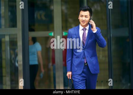 Business man make a phone call - Stock Photo