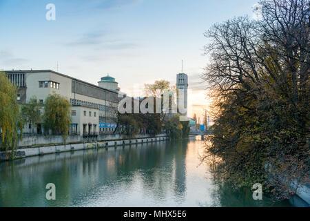 Deutsches Museum, Munich, Bavaria, Germany, Europe, PublicGround - Stock Photo