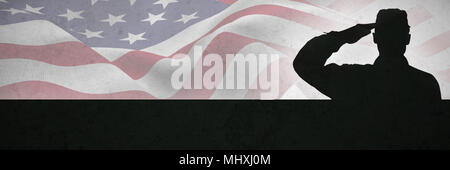 Composite image of focus on usa flag - Stock Photo