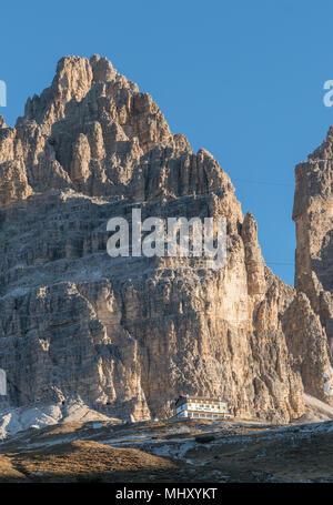 Dolomites near Cortina d'Ampezzo, Veneto, Italy - Stock Photo