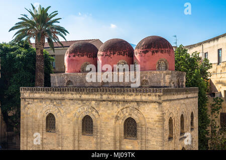Palermo, Sicily, San Cataldo church - Stock Photo