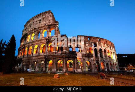 Colosseum, Rome, Umbria, Italy, Europe / Rome | Kolosseum, Rom, Umbrien, Italien, Europa / Rom Stock Photo