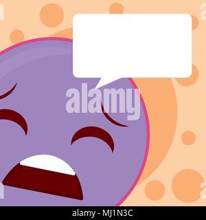 Cute emoji cartoon concept - Stock Photo