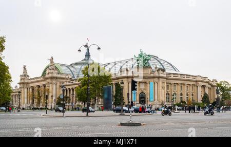The Grand Palais des Champs-Elysees. Paris, France - Stock Photo