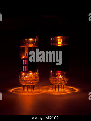 vacuum tubes - Stock Photo