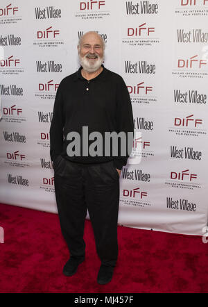 Dallas, Texas, U.S.A. 3rd May, 2018. Movie Director ''ROB REINER'' at the screening of his 2017 movie SHOCK and AWE. Credit: Hoss Mcbain/ZUMA Wire/Alamy Live News - Stock Photo