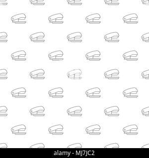 Stapler pattern vector seamless - Stock Photo