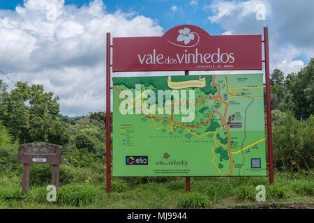 Vale dos Vinhedos, Rio Grande do Sul, Brazil, Latin America - Stock Photo