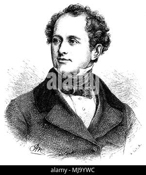 Thomas Moore (born May 28, 1779 , died 25 [ 26 ] in February 1852 ), - Stock Photo