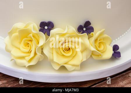 Star wars themed wedding cake - Stock Photo
