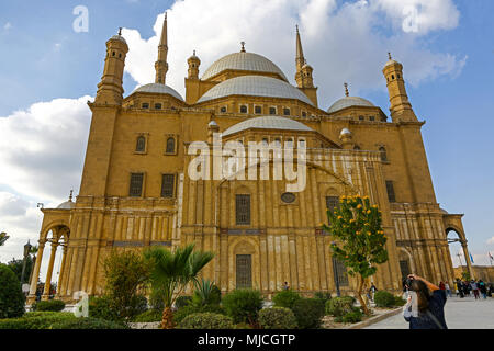 The Great Mosque of Muhammad Ali Pasha, or Alabaster Mosque, or Muhammad Ali Mosque, is situated in the Citadel of Cairo in Egypt, North Africa