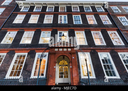 England, London, The Strand, Inner Temple, Kings Bench Walk, Solicitors Offices - Stock Photo