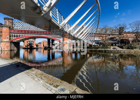 Europe, England, United Kingdom, Manchester - Castlefield - Stock Photo