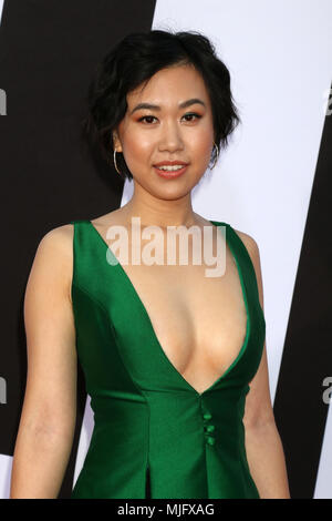 'Blockers' Premiere at the Village Theater on April 3, 2018 in Westwood, CA  Featuring: Ramona Young Where: Westwood, California, United States When: 03 Apr 2018 Credit: Nicky Nelson/WENN.com - Stock Photo
