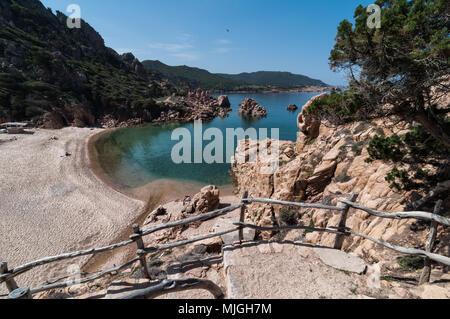 Li Cossi Bay Costa Paradiso Sardinia island Italy summer 2018 - Stock Photo