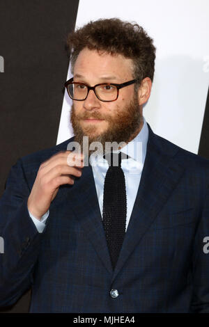 'Blockers' Premiere at the Village Theater on April 3, 2018 in Westwood, CA  Featuring: Seth Rogen Where: Westwood, California, United States When: 03 Apr 2018 Credit: Nicky Nelson/WENN.com - Stock Photo