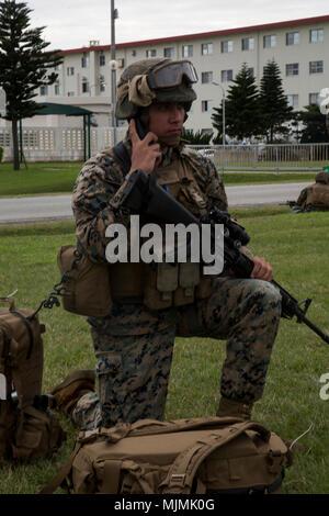 Cpl  Matthias Geraghty, a radio operator with Combat