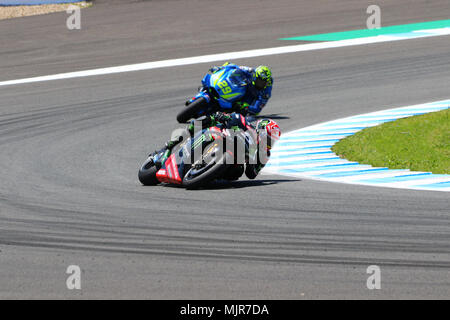 Andrea Iannone on his Ducati MotoGP bike with Energy T.I Pramac Stock Photo: 61409337 - Alamy