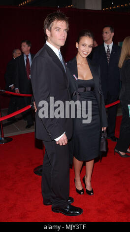 Michael Weatherly and wife Jessica Alba arrive at the 53rd Annual Prime-Time Emmy Awards held at the Shubert Theatre, Los Angeles, CA., Nov. 4, 2001.            -            AlbaJessica WeatherlyM02.JPG           -              AlbaJessica WeatherlyM02.JPGAlbaJessica WeatherlyM02  Event in Hollywood Life - California,  Red Carpet Event, Vertical, USA, Film Industry, Celebrities,  Photography, Bestof, Arts Culture and Entertainment, Topix Celebrities fashion /  from the Red Carpet-, Vertical, Best of, Hollywood Life, Event in Hollywood Life - California,  Red Carpet , USA, Film Industry, Celebr - Stock Photo