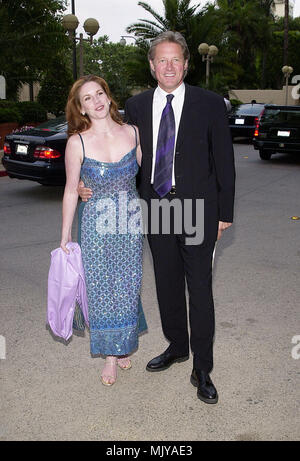 Bruce Boxleitner and wife Melissa Gilbert arriving at The 27th Saturn Awards at the Park Hyatt Hotel in Los Angeles  June 13, 2001          -            BoxleitnerBruce GilbertM04.JPG           -              BoxleitnerBruce GilbertM04.JPGBoxleitnerBruce GilbertM04  Event in Hollywood Life - California,  Red Carpet Event, Vertical, USA, Film Industry, Celebrities,  Photography, Bestof, Arts Culture and Entertainment, Topix Celebrities fashion /  from the Red Carpet-, Vertical, Best of, Hollywood Life, Event in Hollywood Life - California,  Red Carpet , USA, Film Industry, Celebrities,  movie c - Stock Photo