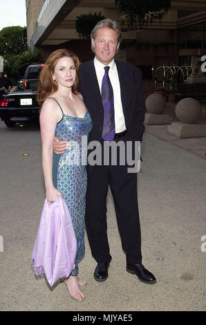 Bruce Boxleitner and wife Melissa Gilbert arriving at The 27th Saturn Awards at the Park Hyatt Hotel in Los Angeles  June 13, 2001          -            BoxleitnerBruce GilbertM10.JPG           -              BoxleitnerBruce GilbertM10.JPGBoxleitnerBruce GilbertM10  Event in Hollywood Life - California,  Red Carpet Event, Vertical, USA, Film Industry, Celebrities,  Photography, Bestof, Arts Culture and Entertainment, Topix Celebrities fashion /  from the Red Carpet-, Vertical, Best of, Hollywood Life, Event in Hollywood Life - California,  Red Carpet , USA, Film Industry, Celebrities,  movie c - Stock Photo