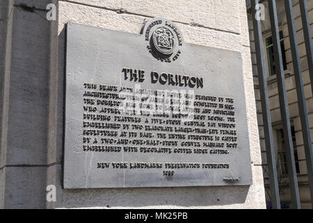 The Dorilton is an Historic Beaux-Arts Apartment House on the Upper West Side of Manhattan in New York City, USA - Stock Photo