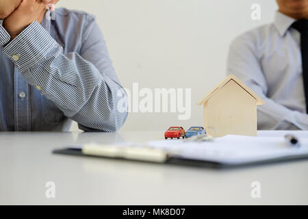 Insurance Home House Life Car Protection Protect Concepts - Stock Photo
